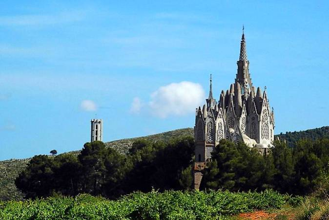 Santuario de la Mare de Déu de Montserrat de Montferri, en Tarragona