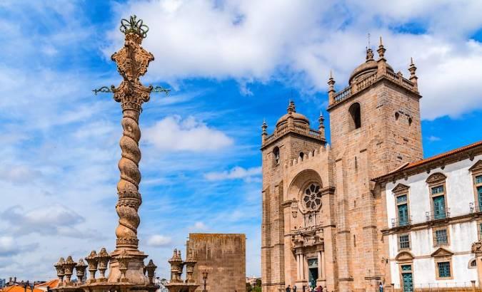 La Catedral de Oporto, en Portugal