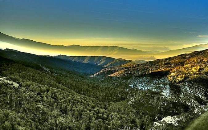 Valle de Cabuérniga, en Cantabria