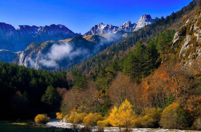 Selva de Oza, en Huesca