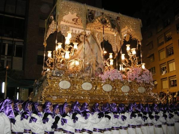 Semana Santa en el Parador de Lorca, en Murcia