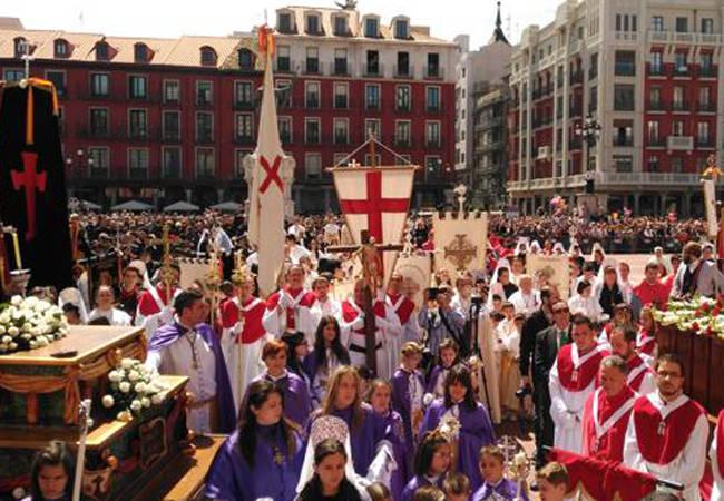 Procesiones de Semana Santa en Valladolid