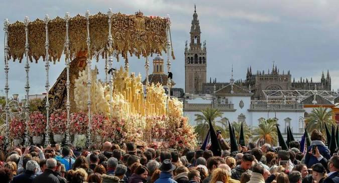 Vive la Semana Santa de Sevilla