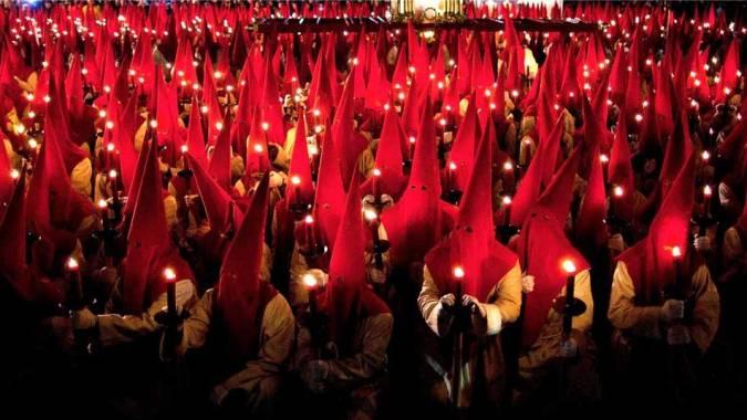 Penitentes Cofradía del Silencio, en Zamora
