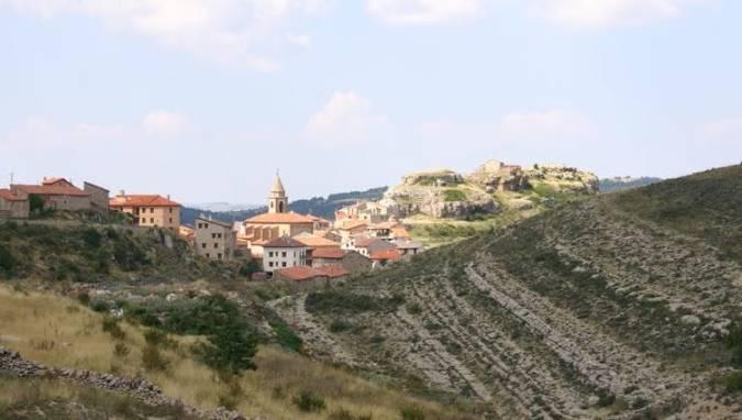 La localidad de Gúdar, en Teruel