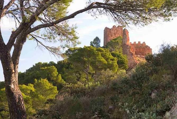 Restos del Castillo de Serra, en Valencia