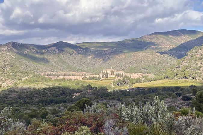Cartuja de Portaceli, en la Sierra de Calderona