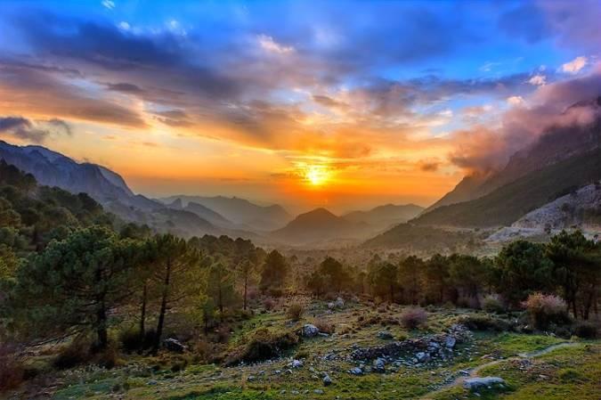 La Sierra de Grazalema, Reserva de la Biosfera en Andalucía