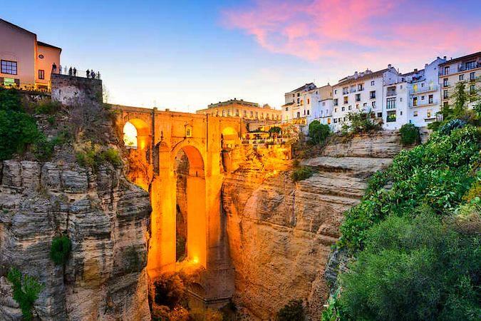 La localidad de Ronda, en Málaga