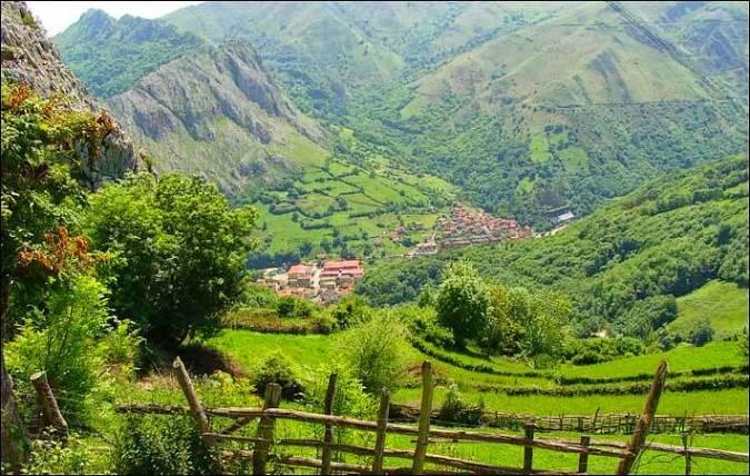 Paisaje Protegido de la Sierra del Aramo, en Asturias