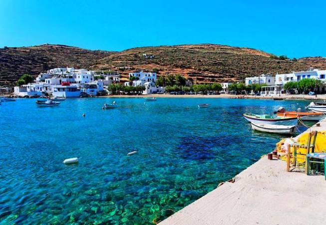 Sifnos, una isla casi secreta en Grecia