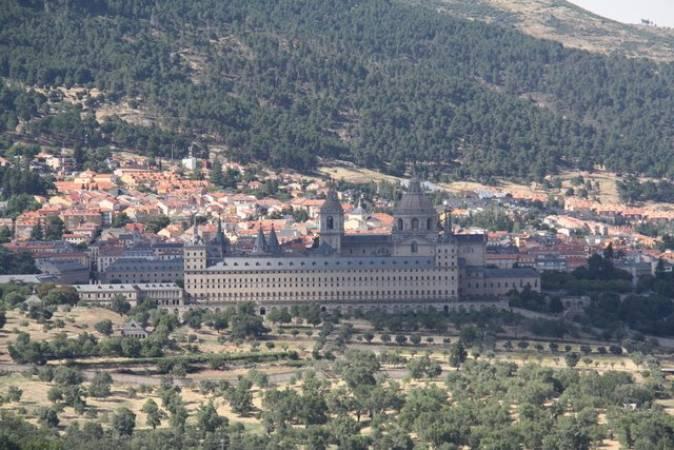 Silla del Rey, Las mejores vistas de El Escorial