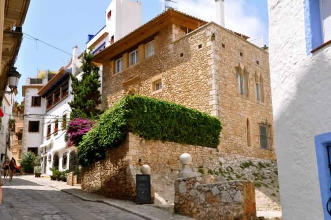 Casco antiguo de Sitges, en Barcelona