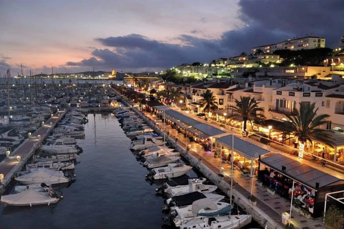 Puerto de Sitges, en Barcelona