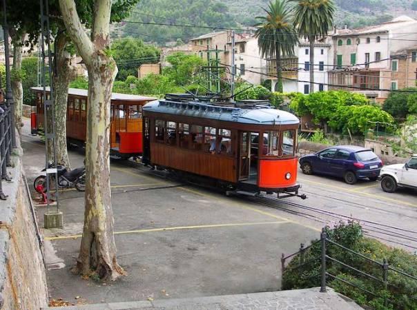 El Tren de Sóller, en Mallorca