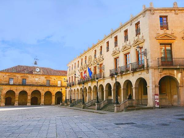La Plaza Mayor de Soria