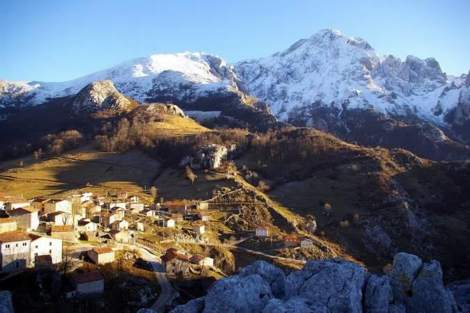 Sotres, Asturias.