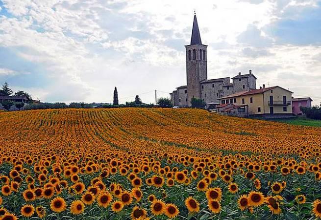 Spoleto, en Italia