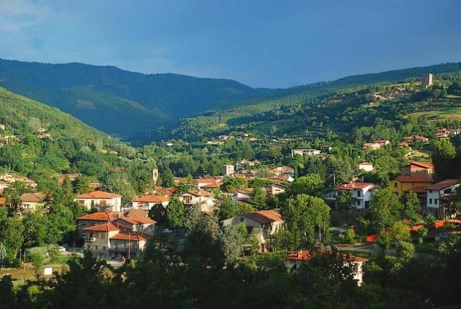 Stia, un bello pueblo italiano de la Toscana