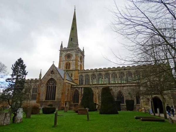 La Iglesia Holy Trinity, en Stratford Upon Avon