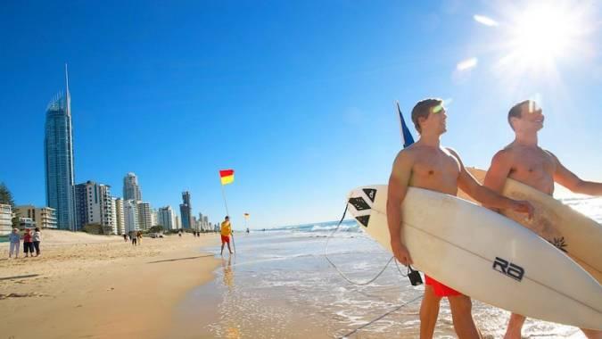 Surfers Paradise, paraíso de surfistas en Australia