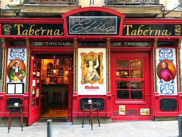 La Taberna La Elisa, un clásico del Madrid más castizo