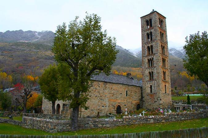 Taüll, naturaleza y arte románico en Lleida
