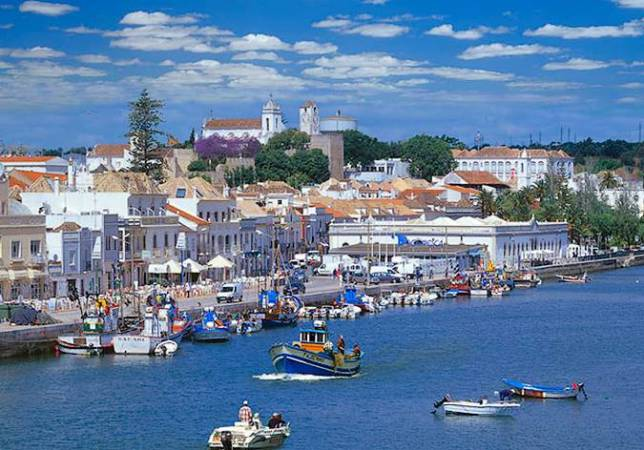 Tavira, destino especial en el Algarve portugués
