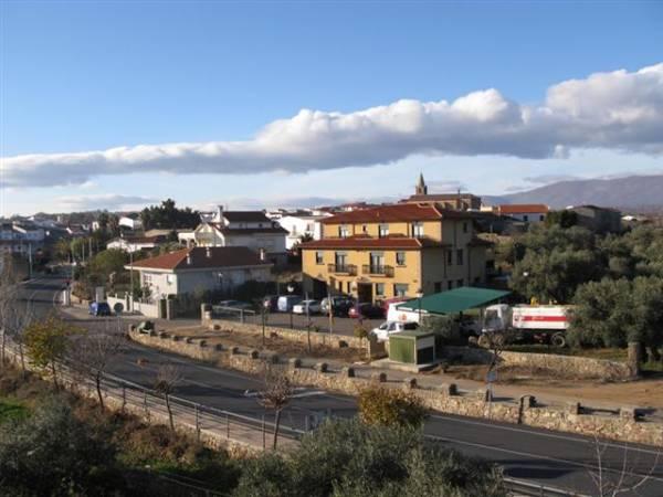 Panorámica Tejeda del Tiétar, en Cáceres