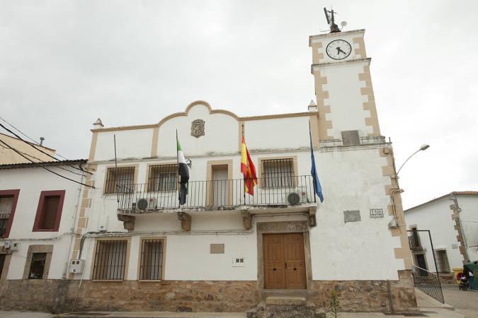 Ayuntamiento de Tejada del Tiétar, en Cáceres
