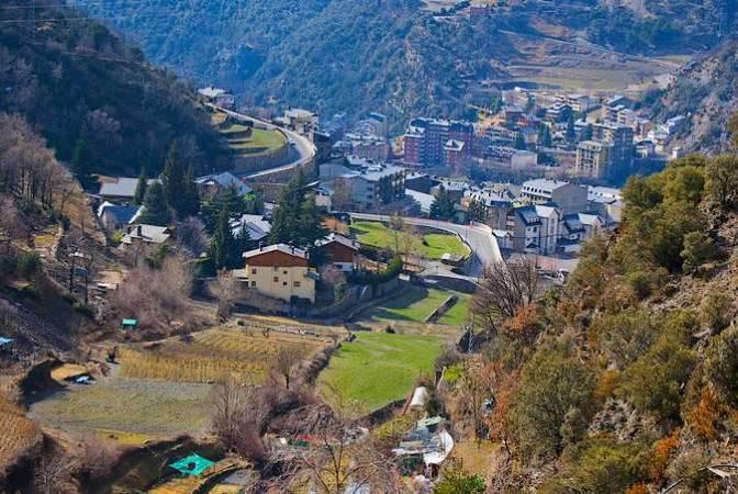 Sant Julià de Lòria, en Andorra