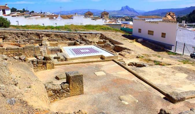 Las Termas Romanas de Santa María, en Antequera