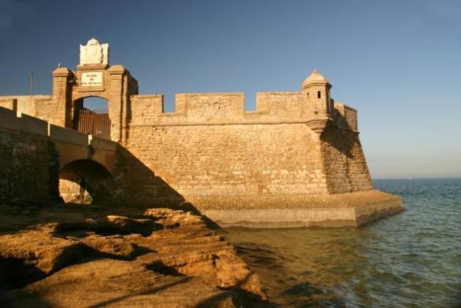 Castillo de Sebastián, en Cádiz