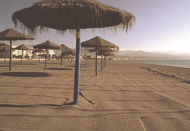 Playa en Torre del Mar