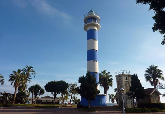 Faro en Torre del Mar