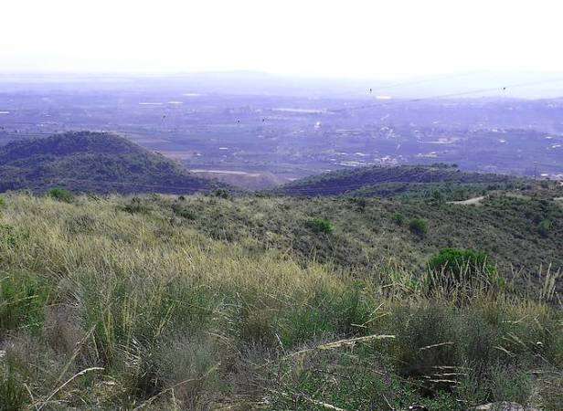 Torrent desde la Sierra Perenxisa, en Valencia