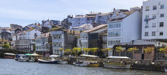 Panorámica de Betanzos, A Coruña.