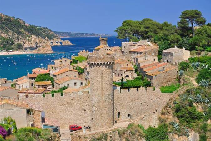 Tossa de Mar, en Girona