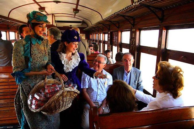 El Tren de la Fresa, entre Madrid y Aranjuez