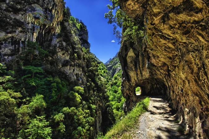Ruta del Cares, en los Picos de Europa