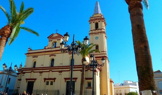 Iglesia de San Antonio Abad, en Trigueros, Huelva