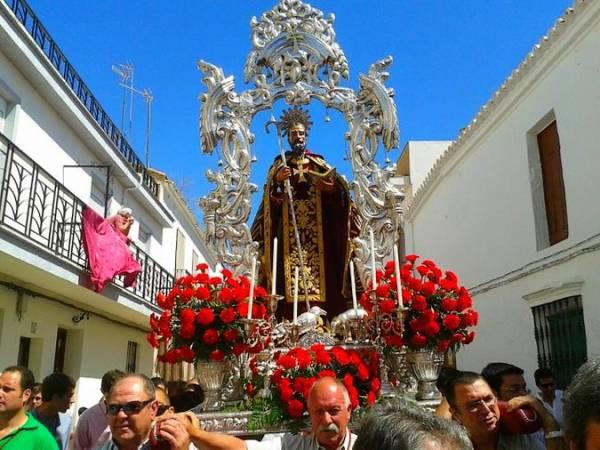 Festividad de San Antonio Abad en Trigueros, Huelva