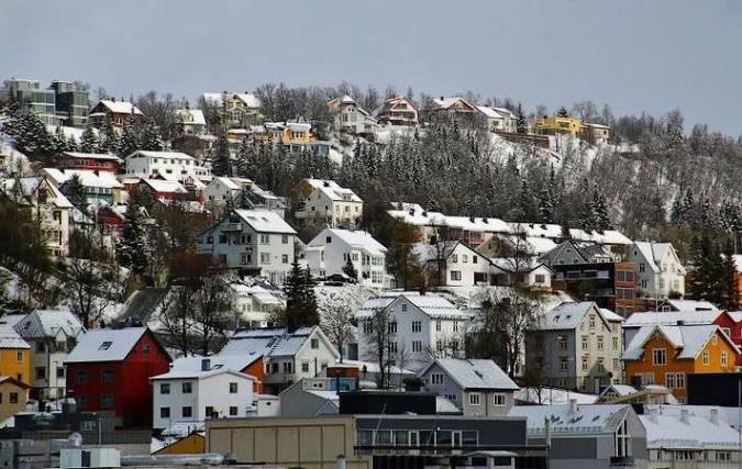 La ciudad de Tromso, en Noruega