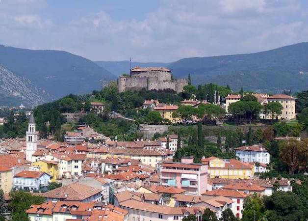 La antigua ciudad de Gorizia, en Italia