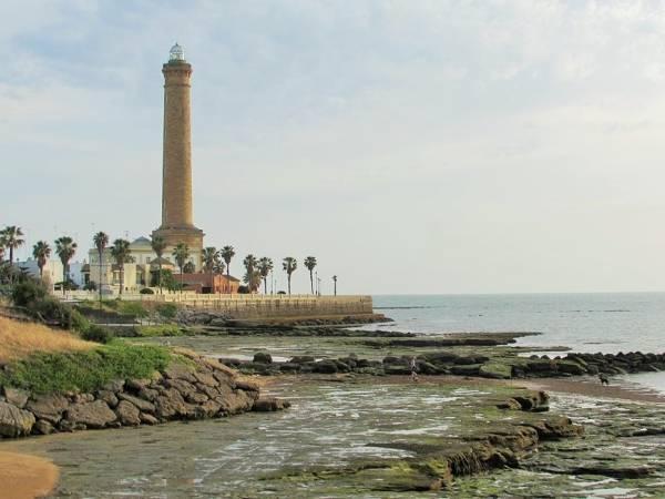 Faro de Chipiona, en Cádiz