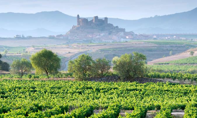 Panorámica de Briones, en La Rioja