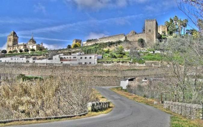 La histórica villa de Jerez de los Caballeros, en Badajoz
