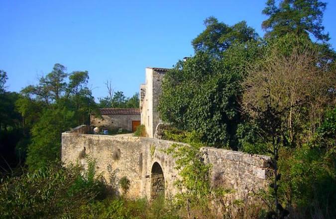 Castillo de Fornells de la Selva, en Girona