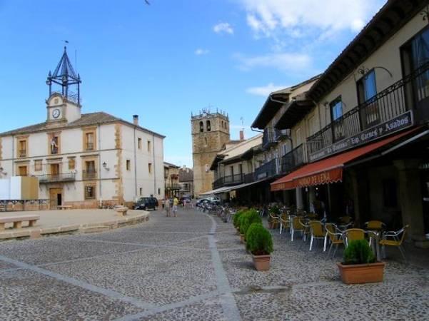 Riaza, punto de partida de los Pueblos Rojos de Segovia