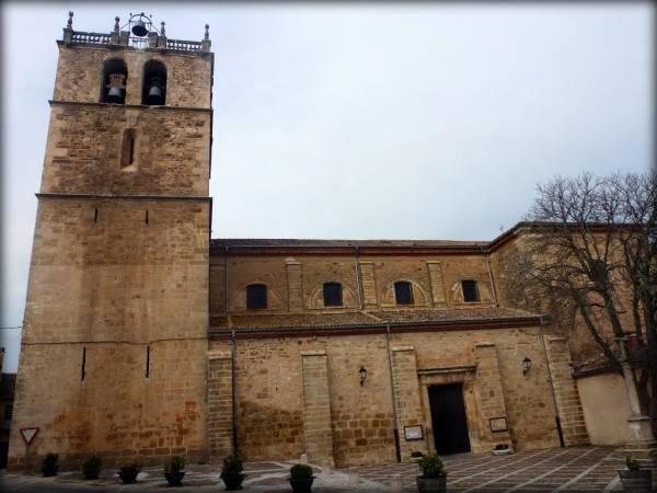 Iglesia de la Virgen del Manto, en Riaza